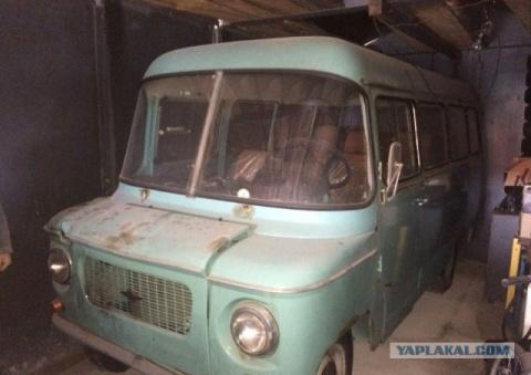 Капсула времени: микроавтобус Nysa 522 1982-го года с пробегом 92 км