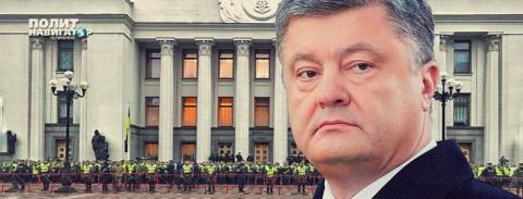 Порошенко паникует и стягивает в центр Киева войска