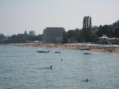 Пляж Солнечный день