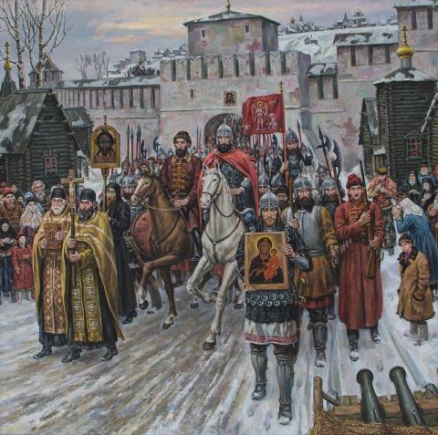 Рождение России