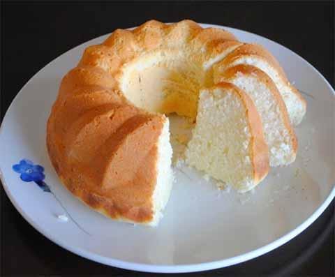 Лимонный кекс на белках