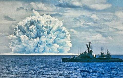 Невероятные фотографии ядерн…