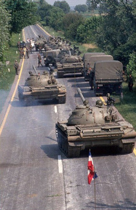 Десятидневная война в Словении, 1991 год.