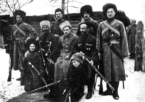Как Деникин Чечню усмирял