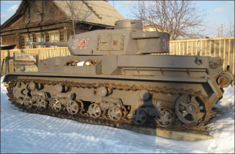 Житель Свердловской области построил танк