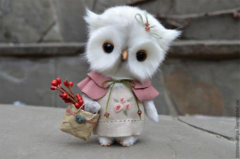 Милые игрушки от Ани Турченко