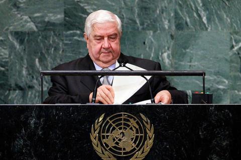 Глава МИД Сирии призвал распустить международную коалицию во главе с США