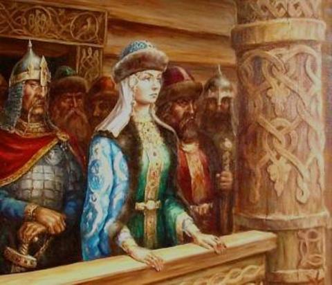 Первая женщина русской церкви: княгиня Ольга