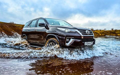 Новый Toyota Fortuner — тест…