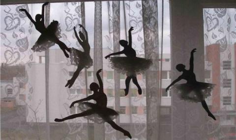 Снежинки-балеринки. Новогодн…