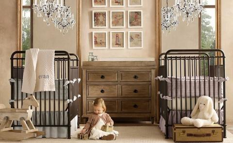 Детская комната для двойняше…