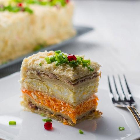 """Закусочный Торт """"Наполеон"""" н…"""