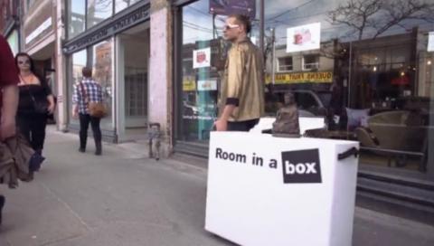 Переезд с одной коробкой