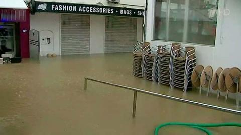 Юг Португалии пытается прийти в себя наводнения, вызванного проливными дождями