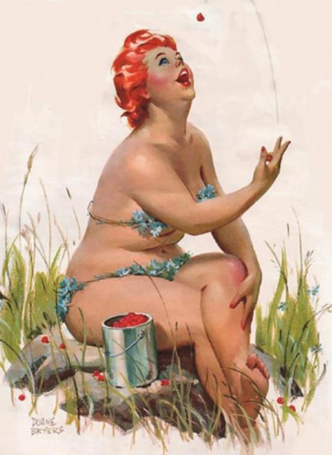 Нетипичная королева пин-апа —  Хильда докажет всем, что необязательно быть 90-60-90, дабы стать эталоном красоты!
