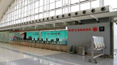 Пассажиры Air Canada госпита…