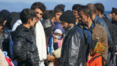 Во Франции иранские мигранты…