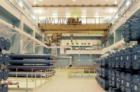 В Сосновый Бор прибыл первый эшелон со свежим топливом для первого блока Ленинградской АЭС-2