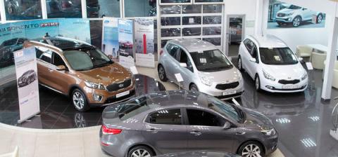 Продажи новых автомобилей в …