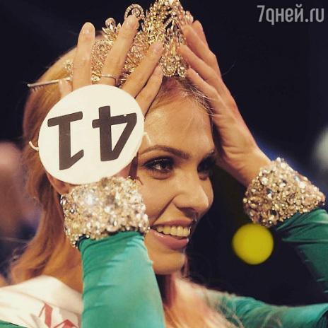 Конкурсантки «Мисс Москва» у…