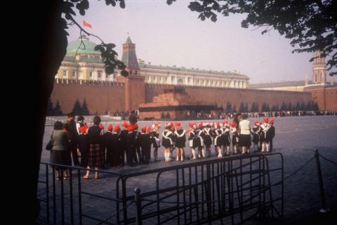 Прогулка по Москве 1986 года