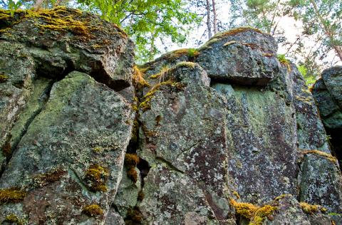 Гора Сампо и каменные великаны!