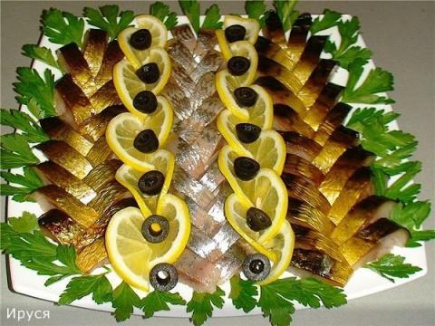 Как украсить праздничные блюда!