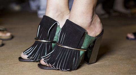 Модная обувь на каблуке сезона 2015-2016. Её даже можно носить!