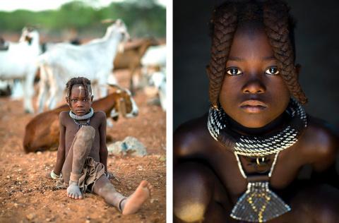 Жизнь намибийских племен в ф…