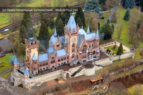 Сказочный Замок Драхенбург в Германии
