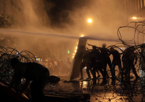 В Ливане вспыхнули антиправительственные акции протеста