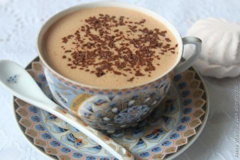 Зефирный горячий шоколад по-…