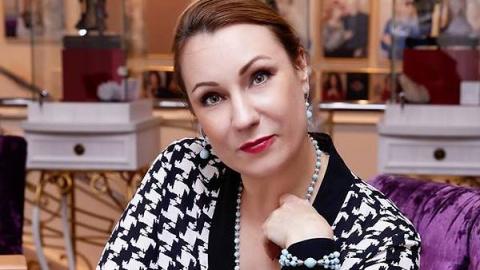 Ольга Тумайкина готовится к школе