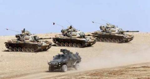 Турецко-сирийская граница ст…