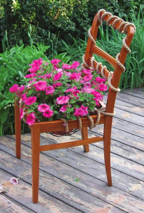 """""""Цветущий стул"""" - мастер-класс"""
