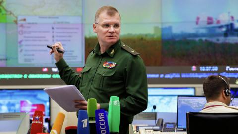 Минобороны РФ: Олланд врёт без совести и чести, обвиняя МО РФ.»