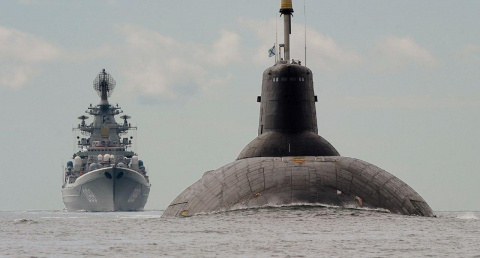 Флагман-«ассенизатор» ВМС Эс…