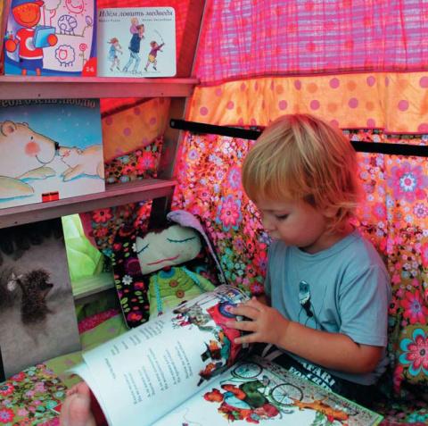 Детский домик из стремянки и веревочный парк – на даче своими руками