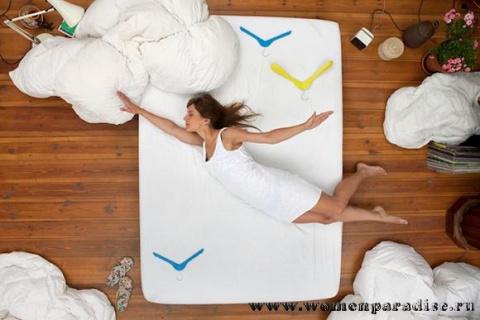 Позы сна меняются из-за боле…