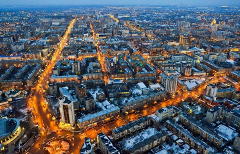 Новосибирск - географический центр России и место, где установлены странные памятники