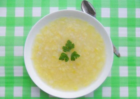 Парижский картофельно-луковый суп