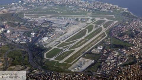 В аэропорту Стамбула прогрем…