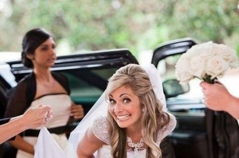 Узнав, что ее бывший женится…