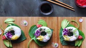 Гибрид суши и пончика: новый…