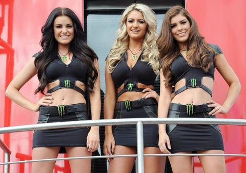 Девушки из Monster Energy