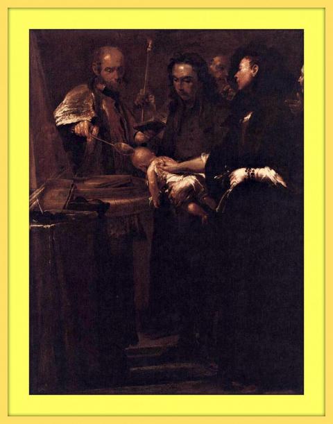 Крещение.1712г.