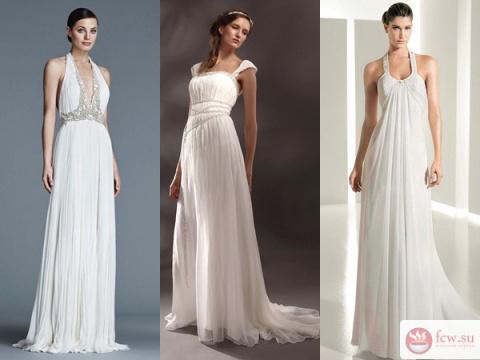 Свадебное платье в греческом…