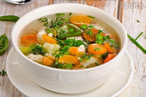 Гороховый суп с овощами: рец…
