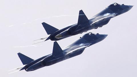 Король воздушного боя. На что будет способен Су-57 с новыми двигателями