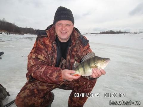 Ухра. Лед есть, рыба тоже.